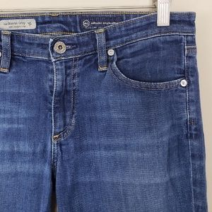 Ag Adriano Goldschmied Jeans - AG Stevie Slim Straight Crop